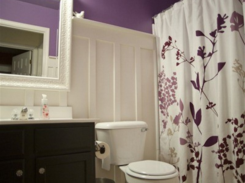 Small Bathroom Curtain Ideas