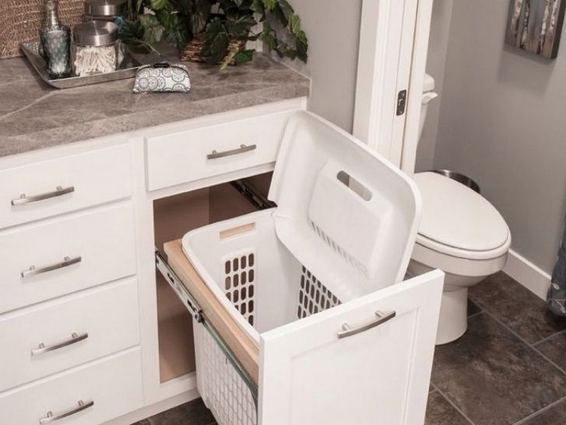 Small Bathroom Hampers