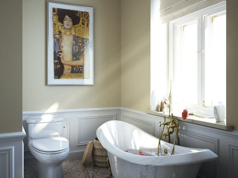 Small Bathroom Ideas With Clawfoot Tub