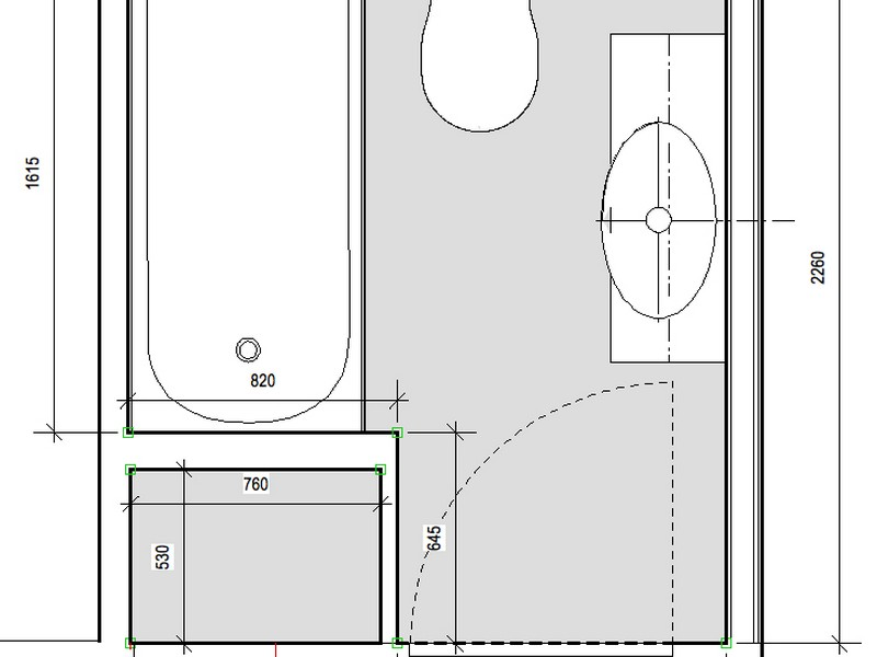 Small Bathroom Layout Planner
