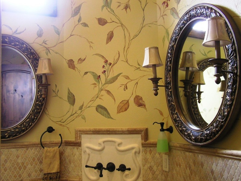 Small Bathroom Murals