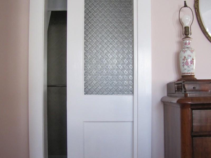 Small Bathroom Pocket Door