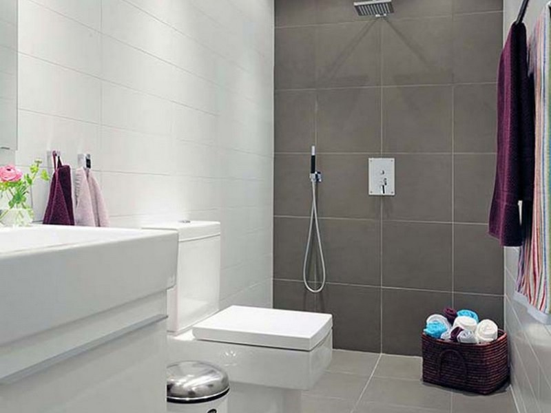 Small Bathroom Remodels Grey