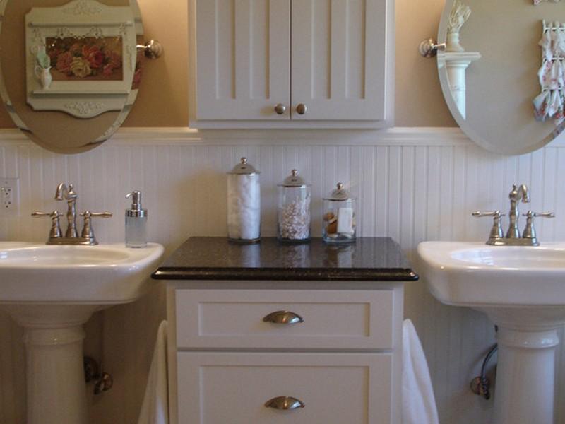 Small Bathroom Sink Storage