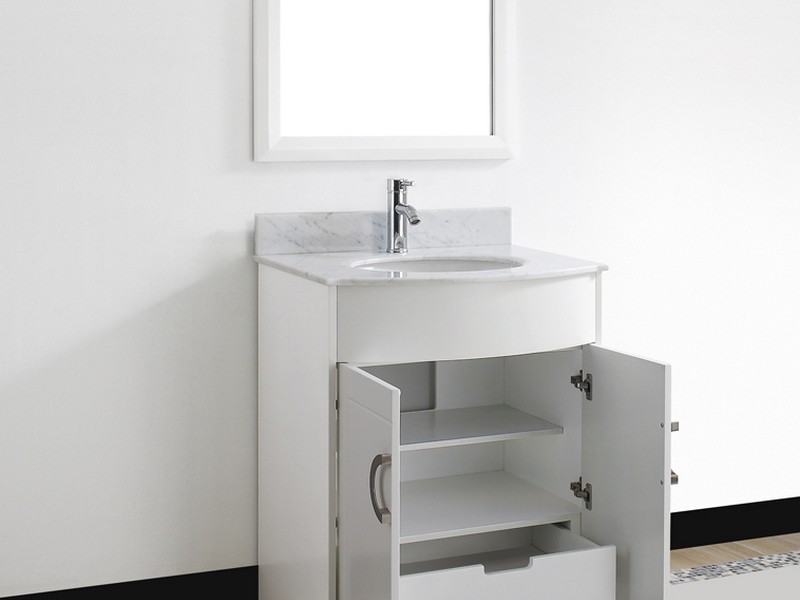 Small Bathroom Sink Vanity White