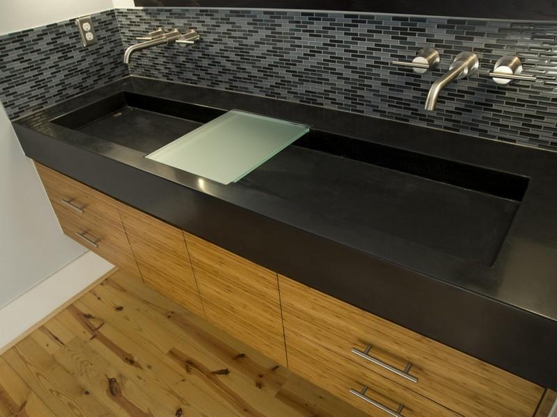 Small Bathroom Trough Sink
