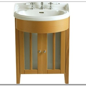 Small Bathroom Vanity Sink Unit