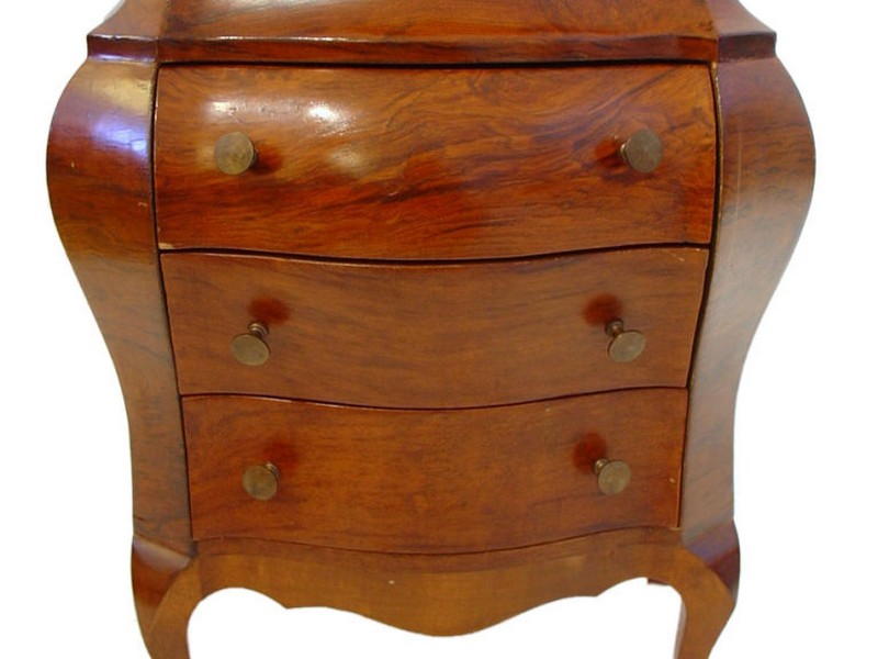 Small Bombe Chest Furniture