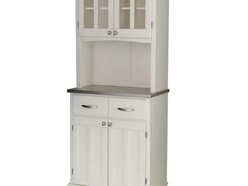 Small Buffet Server With Hutch