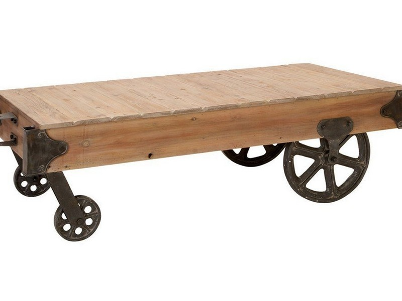 Small Coffee Tables With Wheels