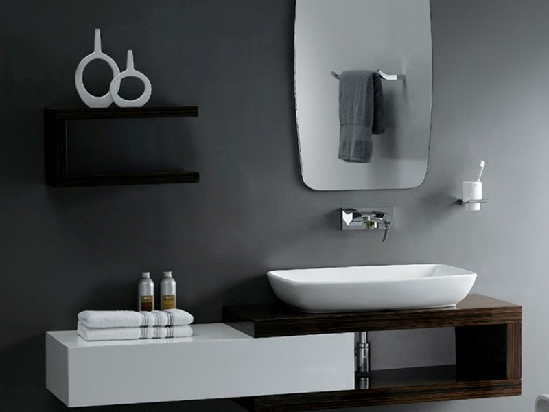 Small Contemporary Bathroom Vanities
