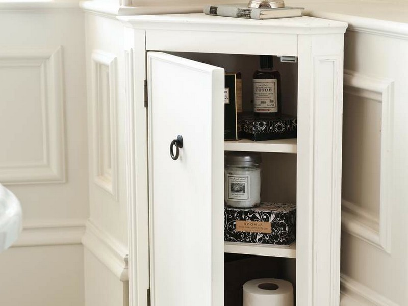 Small Corner Bathroom Vanities