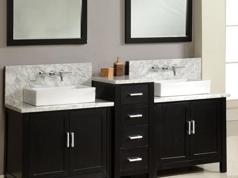 Small Double Vanity Bathroom Sinks