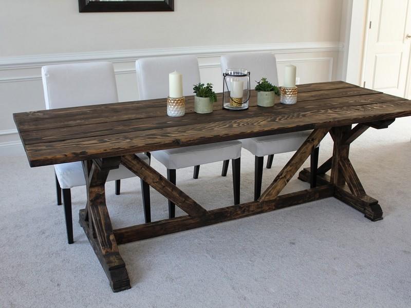 Small Farmhouse Table Plans