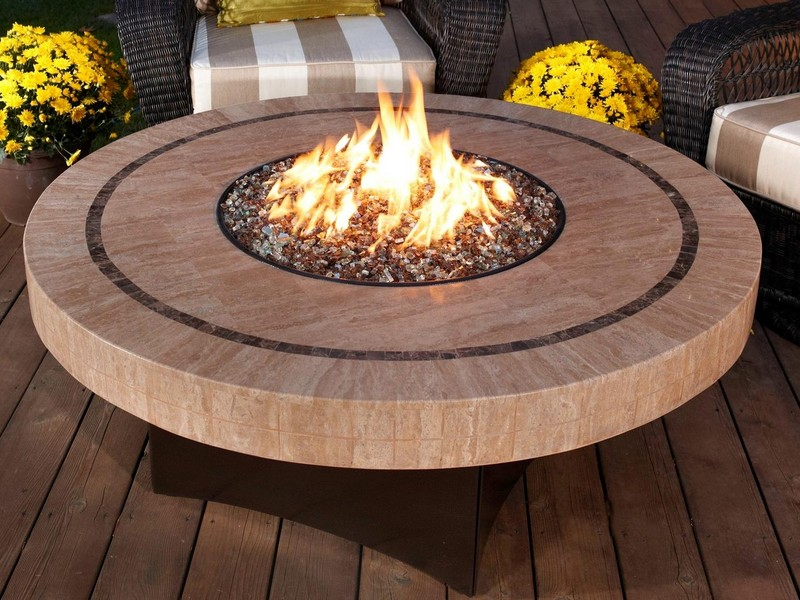 Small Gas Fire Pit Table