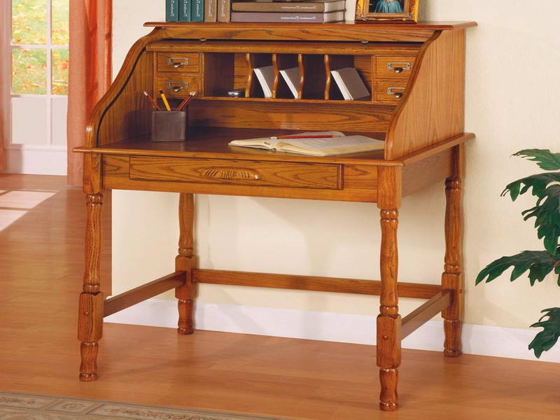 Small Modern Secretary Desk