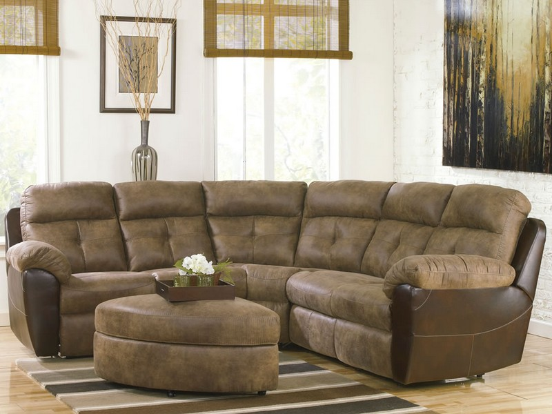 Small Reclining Sectional Couch