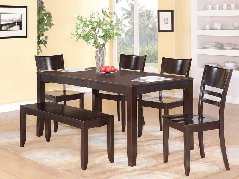 Small Rectangular Dining Table With Bench