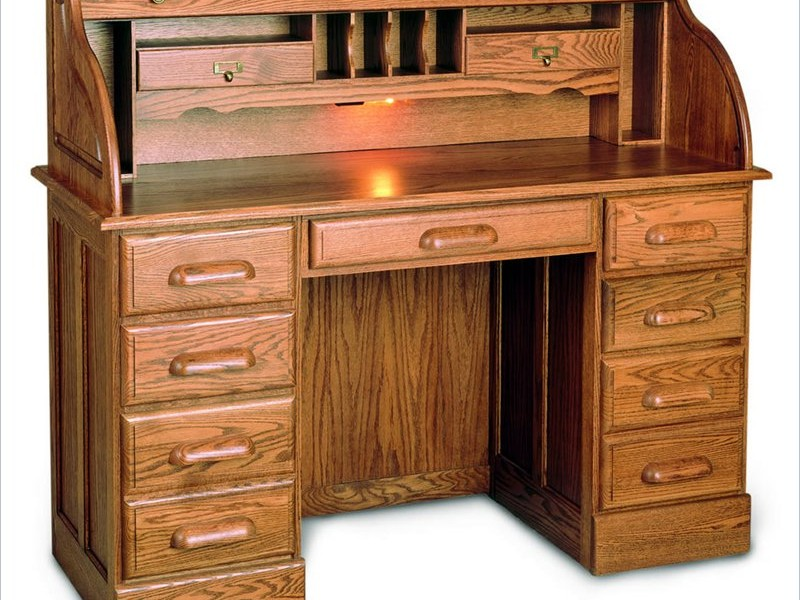 Small Rolltop Writing Desk