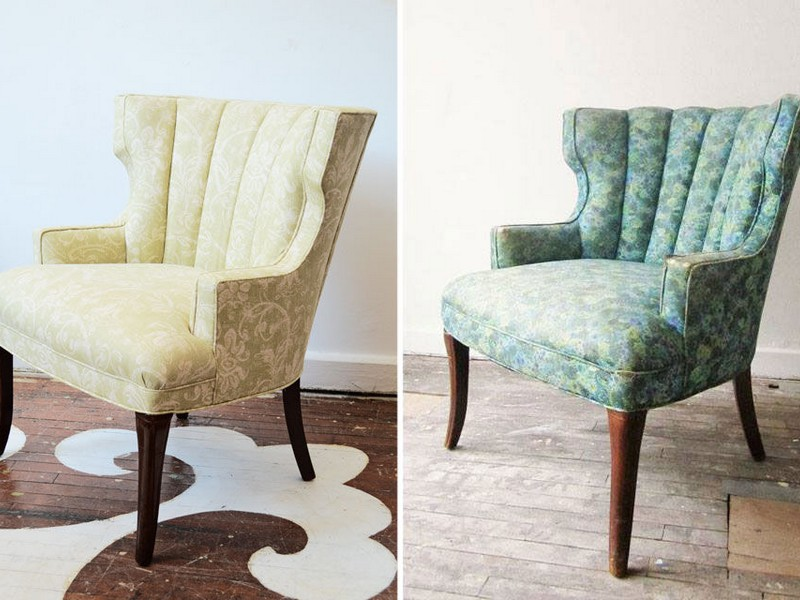Small Scale Upholstered Chairs