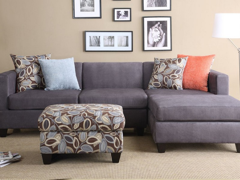 Small Spaces Configurable Sectional Sofa Grey