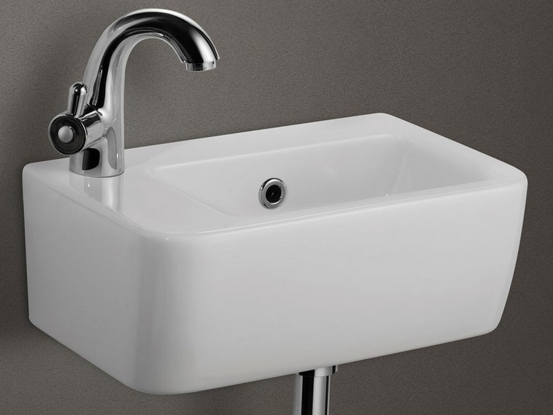 Small Square Bathroom Sink