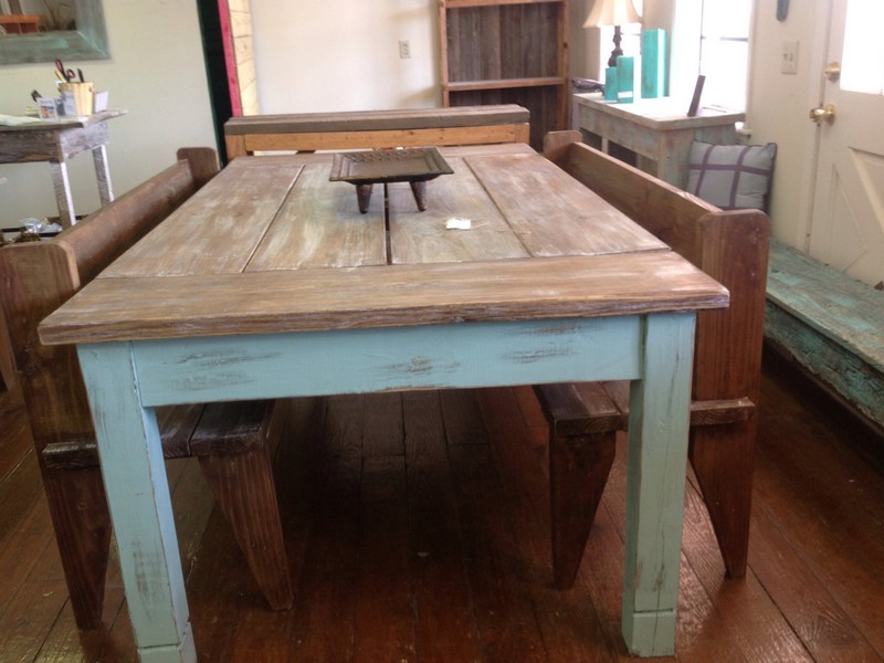 Small Square Farmhouse Table