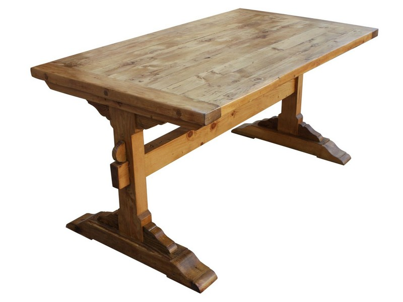 Small Trestle Dining Tables
