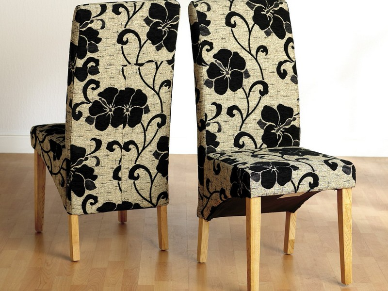 Small Upholstered Dining Chairs