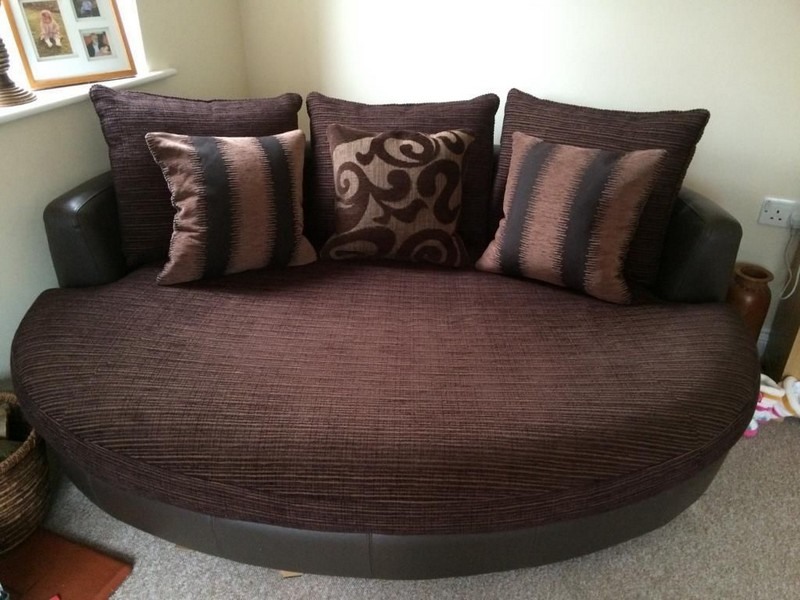 Sofa And Swivel Chair Set