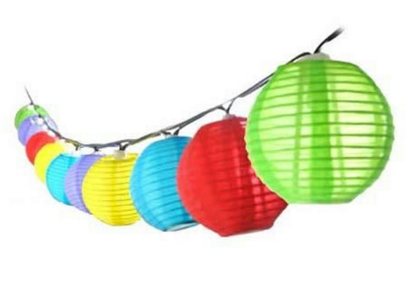 Solar Chinese Lanterns For Garden