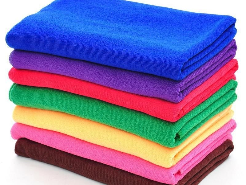 Solid Color Beach Towels