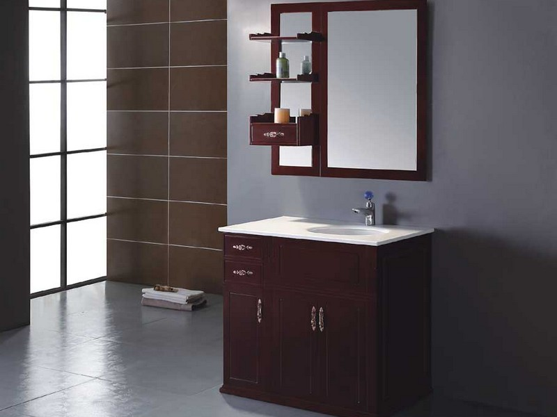 Solid Wood Bathroom Vanities