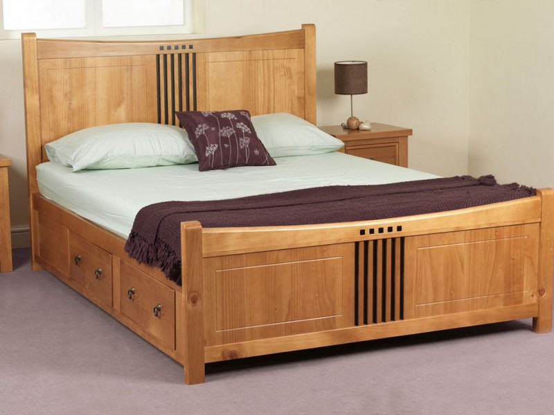 Solid Wood Bed Frames Canada
