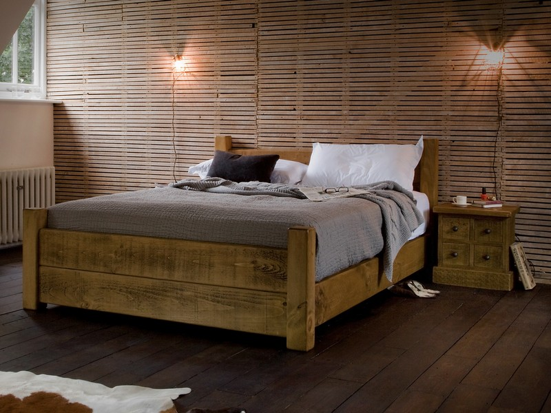 Solid Wood Bed Frames Uk