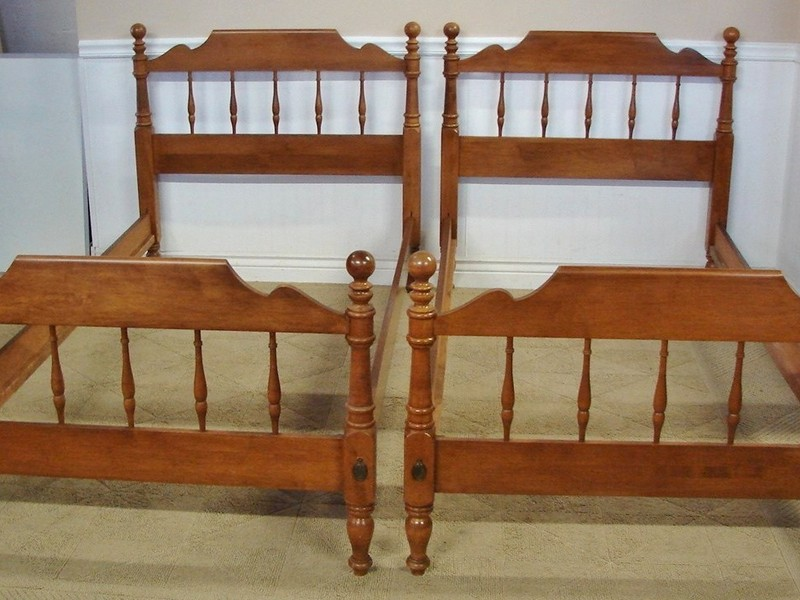 Spindle Twin Bed Frame