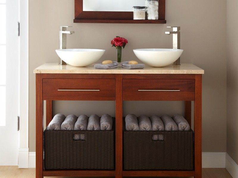 Square Bathroom Sink Bowls
