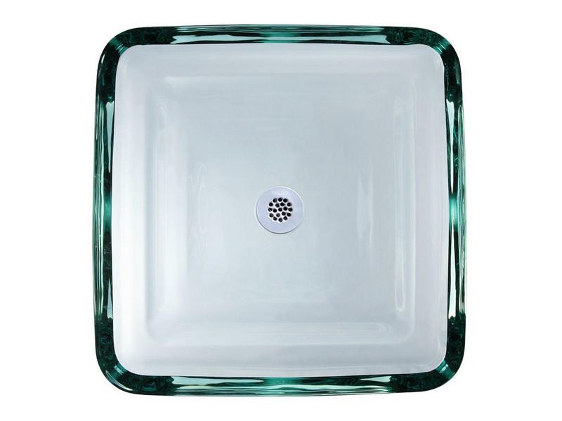 Square Glass Bathroom Sinks