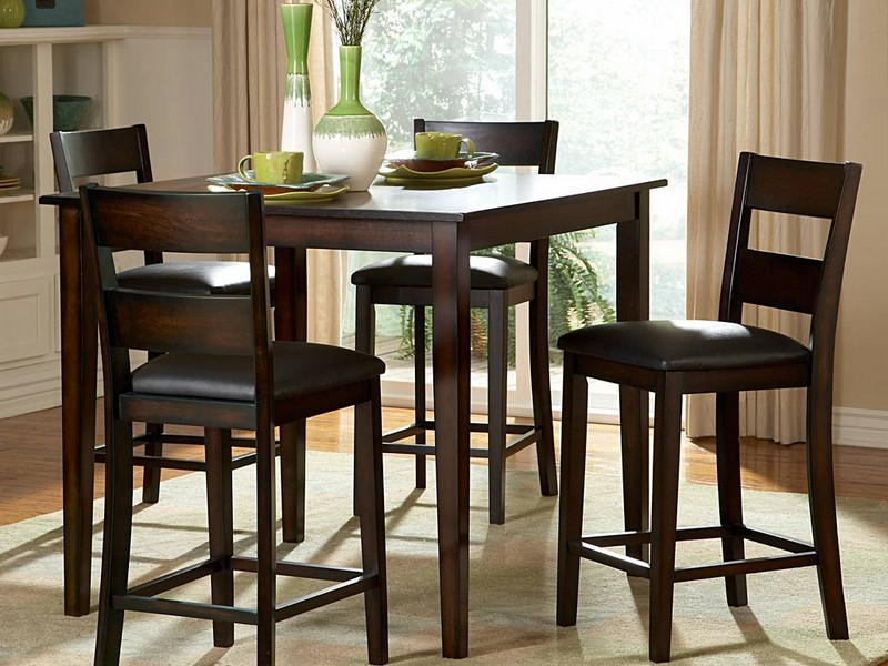 Square Kitchen Table Sets For 4