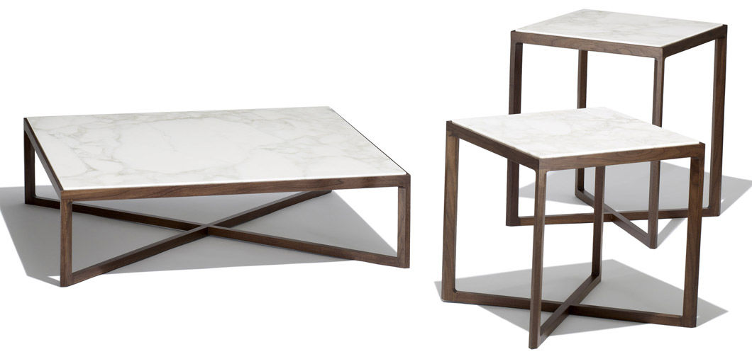 Square Marble Top Coffee Table