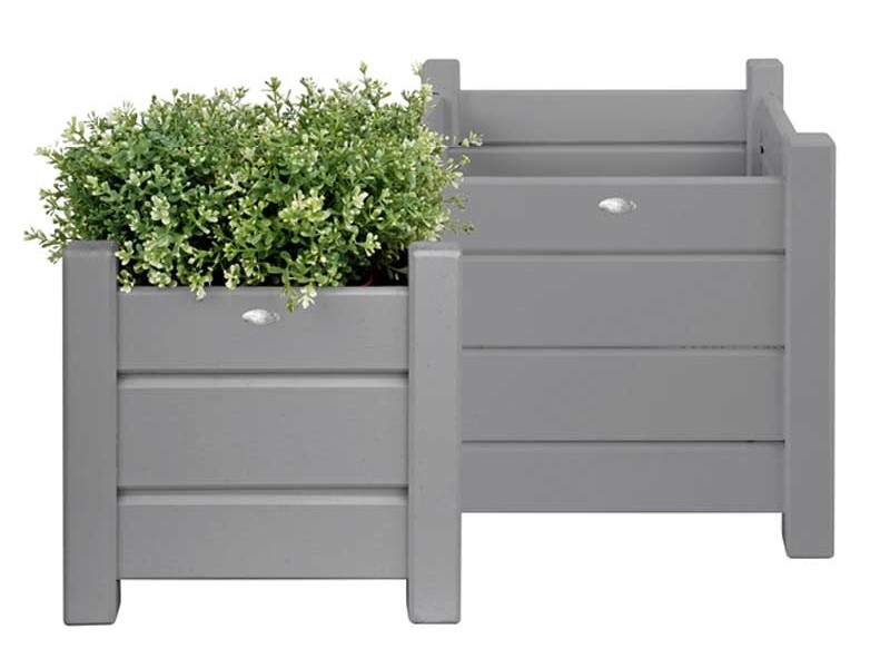 Square Metal Planter