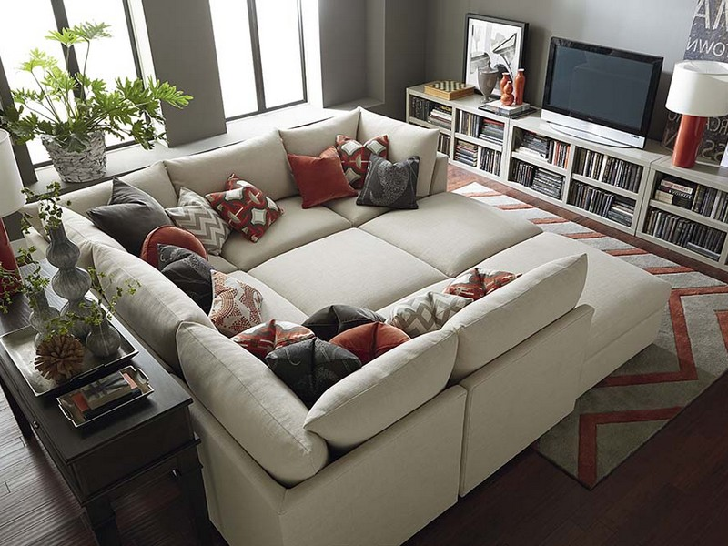 Square Sectional Sofa Group