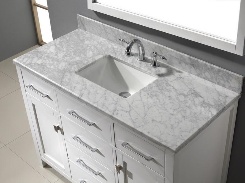 Square Sinks Bathroom Vanities