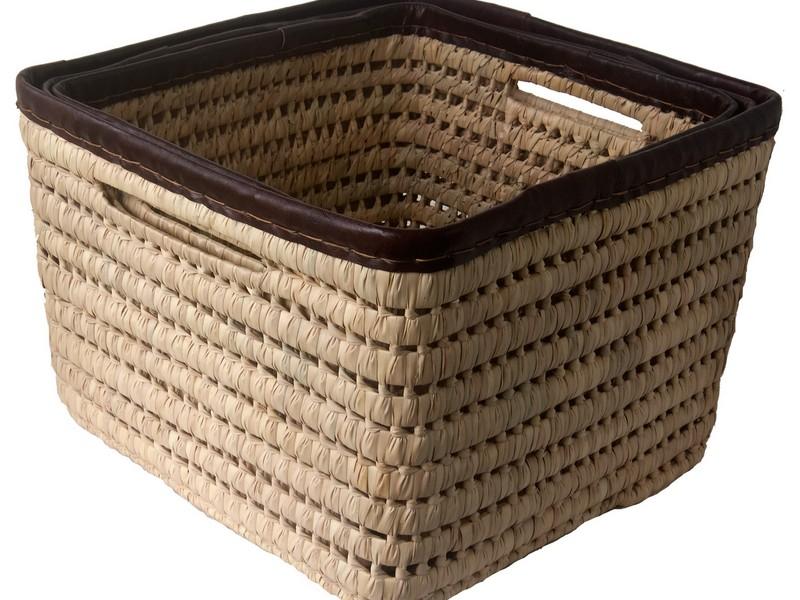 Square Storage Baskets
