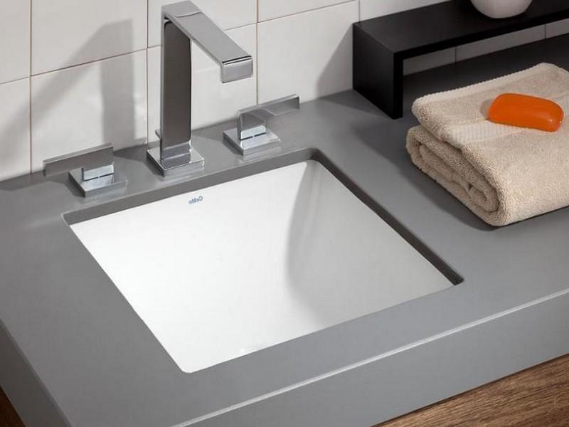 Square Undermount Sink Bathroom