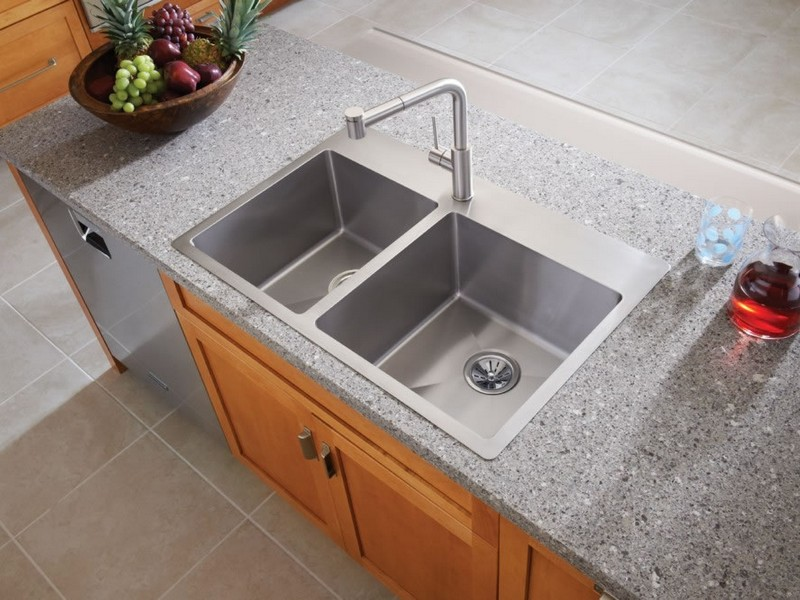 Stainless Steel Bathroom Sinks Drop In