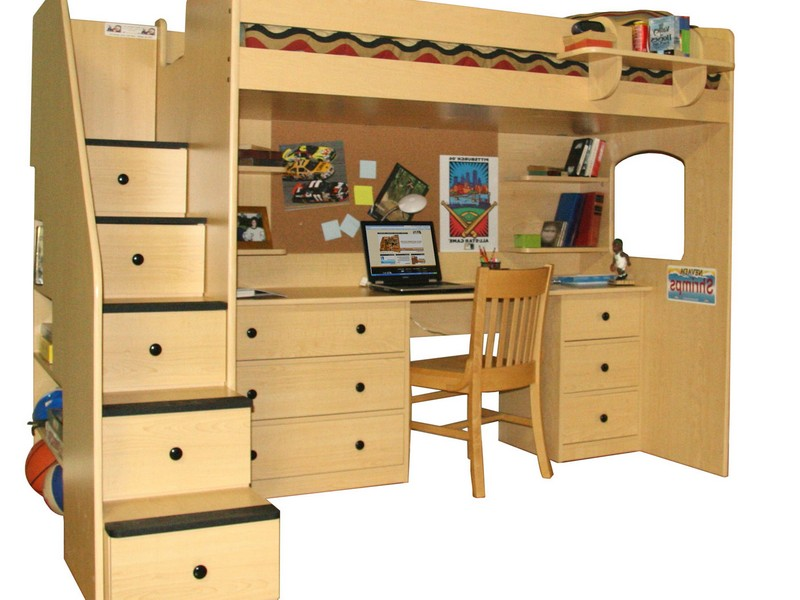 Stairway Bunk Bed Plans Free