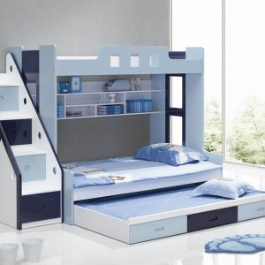 Stairway Bunk Bed With Trundle