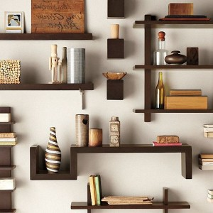 Stairway Wall Mounted Bookcase