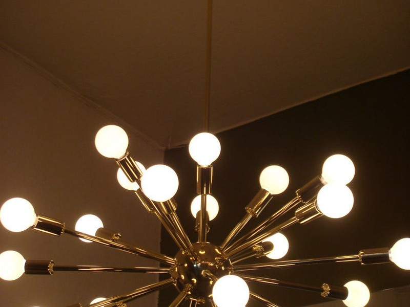 Starburst Ceiling Light Fixture